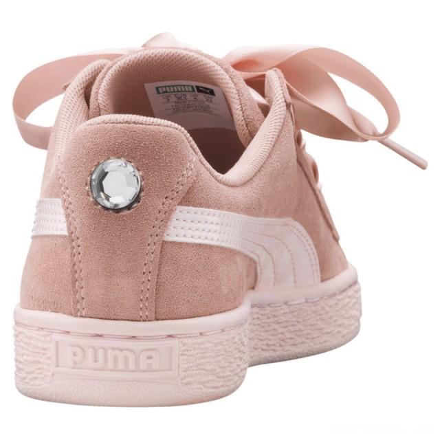 Puma Suede Heart Jewel JR Sneakers